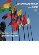 La Comunidad Andina en el 2008. Principales acciones