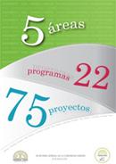 Programa de Trabajo 2009. 5 áreas - 22 programas - 75 proyectos
