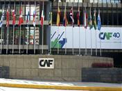 Sede central de la CAF en Caracas