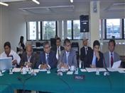 Delegación del Perú.