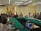 XVI Reunión Ordinaria del Comité Andino de Autoridades de Transporte Terrestre (CAATT) se realizó en la sede de la Secretaría General de la Comunidad Andina.