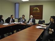 En este sesión de trabajo participaron funcionarios de las entidades gubernamentales de migraciones de Bolivia, Colombia, Ecuador y el Perú