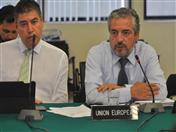 Participó el representante de la Delegación de la Unión Europea en el Perú.