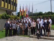 """Los integrantes del Comité de Dirección y las entidades ejecutoras de los proyectos y servicios del proyecto """"Integración Regional Participativa en la Comunidad Andina INPANDES"""" se reunieron en Lima."""