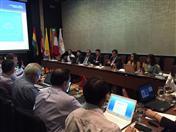En dichas reuniones, realizadas los días 30 y 31 de marzo, se procedió al traspaso de la Presidencia Pro Témpore del Estado Plurinacional de Bolivia a la República de Colombia.