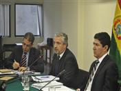Representante de la Delegación de la Unión Europea en el Perú.