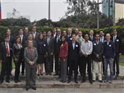 Secretario General de la Comunidad Andina, Walker San Miguel e integrantes del Comité de Dirección del proyecto INPANDES.