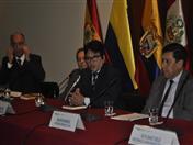 Exviceministro de Interculturalidad del Perú, José Carlos Vilcapoma