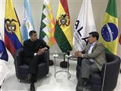 Canciller de Bolivia y Secretario General de la Comunidad Andina sostuvieron reunión de trabajo