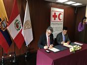 Secretaría General de la Comunidad Andina y Federación Internacional de Cruz Roja fortalecerán sistemas de gestión de riesgos de desastres en países de la región