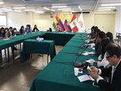 El tema Migración y Movilidad Humana estuvo a cargo del funcionario  Carlos Nieto.