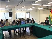 El tema Pymes andinas: Integración productiva y fortalecimiento, estuvo a cargo del funcionario Huascar Ajata.