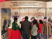 Productores de papa nativa y tunta, beneficiarios de proyecto impulsado por la Comunidad Andina y la Unión Europea participan en feria Mistura