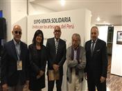 En el acto de inauguración estuvieron presentes el Viceministro de Patrimonio Cultural e Industrias Culturales del Perú, Jorge Arrunátegui; la Representante de UNESCO en el Perú, Magaly Robalino; el Director General de la Comunidad Andina, Embajador