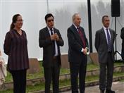 Secretario General de la CAN, Walker San Miguel, acompañado de los Directores Generales de la Comunidad Andina dio la bienvenida a los escolares
