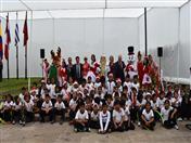 Niños del colegio Bolivia visitaron la Secretaría General de la Comunidad Andina con motivo de la Navidad