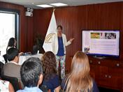 Presentación de nueva sección web de Sanidad Animal, a cargo de Rosa Guerrero.