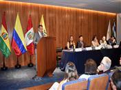Palabras del Director General de la Comunidad Andina, César Montaño Huerta