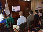 Presentación de la nueva sección web de INPANDES, a cargo de Nancy Santibañez