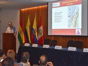 Presentación sobre aspectos geotécnicos y sismológicos, a cargo de Zenón Aguilar- Sub Director de Investigaciones del CISMID-FIC-UNI