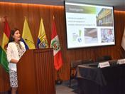 Conferencia a cargo de Alessandra Quiñonez