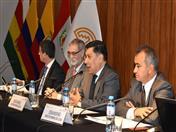 Intervención del Secretario General de la Comunidad Andina, Walker San Miguel.