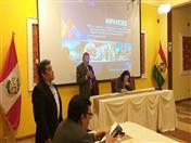 Taller fue inaugurado por el presidente ejecutivo de la ALT, Juan Ocola y el Administrador de Anticipos del proyecto INPANDES, Ennio Fermi.