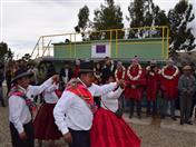 La población de Huatajata recibió en ambiente festivo puesta en marcha de planta.