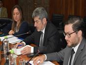 Ministro de Comercio Exterior y Turismo del Perú, Rogers Valencia y Viceministro de Comercio Exterior, Edgar Vásquez