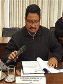 El funcionario a cargo del área Estadística de la Secretaría General de la CAN, Luis Lima participó en la reunión.