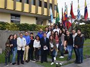 Universitarios de la carrera de Derecho de la Universidad Privada de Bolivia