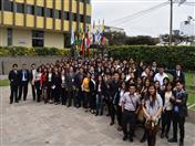 Estudiantes de la carrera de Negocios Internacionales de la Universidad César Vallejo