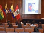 Tema: Oportunidades comerciales en la CAN, a cargo de Huascar Ajata.