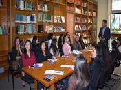 Tema: Oportunidades comerciales para las pymes andinas en la Comunidad Andina, a cargo del funcionario Huascar Ajata.