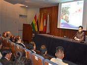 Ponencia Política Comercial en la Comunidad Andina,  a cargo de Jean Paul Van Brackel.