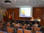 Ponencia La Comunidad Andina, logros, avances y retos, a cargo del Secretario General (a.i) de la CAN, Embajador César Montaño.
