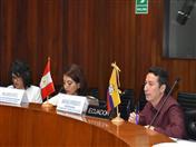 Representante de SENPLADES, Ecuador, Santiago Verdesoto.