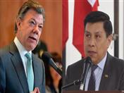 Presidente Juan Manuel Santos recibió en su despacho al Secretario General de la Comunidad Andina