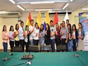 Alumnos de Universidad César Vallejo del Perú participaron en charla
