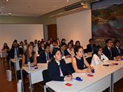 Asistieron a la charla alumnos de las carreras de Administración, Negocios Internacionales, Economía y Derecho de los últimos ciclos o recién egresados de las diversas universidades peruana.