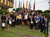 Alumnos del curso de Negociaciones Comerciales Internacionales, brindado por el ministerio de Comercio del Perú visitaron Secretaría General de la CAN