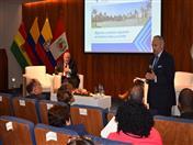 Director General de la CAN, José Antonio Arróspide clausuró la Reunión