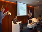 Expositor Jorge Martínez de la CEPAL
