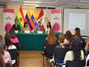 Conferencia Con las mujeres avanza el mundo, organizada por la Asociación Peruana Mujer Peruana se realizó en la sede de la Secretaría General de la CAN