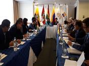 Reunión del Comité Andino para la Prevención y Atención de Desastres.