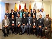 Foto oficial del Comité Andino para la Prevención y Atención de Desastres, reunido en Quito. (Foto: Sec. Riesgos Ecuador)