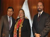 Secretario General de la CAN, Presidenta de la Cámara de Comercio de Lima y director ejecutivo de IDEXCAM de la CCL
