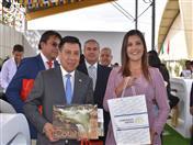 Visita de la Gobernadora de Arequipa al stand de la CAN.