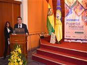 Expositor Santiago Vélez del Ecuador