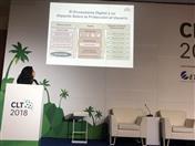 Marianella Guzmán, funcionaria de la Secretaria General de la CAN, detalló las estrategias subregionales para un Mercado Digital Regional en las que vienen trabajando conjuntamente los países miembros: Bolivia, Colombia, Ecuador y el Perú.